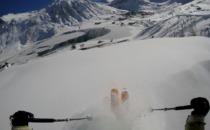 2,5 meter snö och hög lavinrisk i alperna