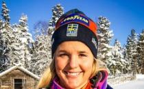 Anna Holmlund vårdas på Karolinska Universitetssjukhus