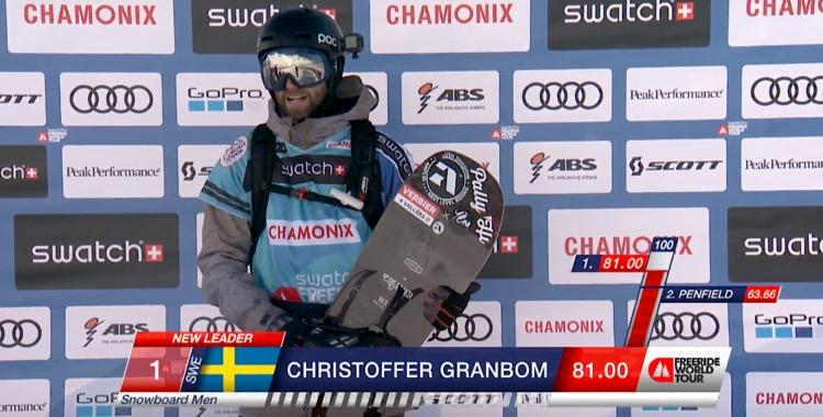 Christoffer Granbom svepte hem andra FWT stoppet i Andorra.