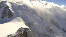 Över en meter snö i Chamonix