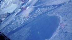 Enorm lavin i Engelberg