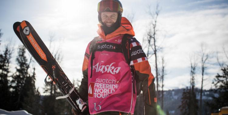 Reine Barkered var peppad på tävlingen i Haines, Alaska.
