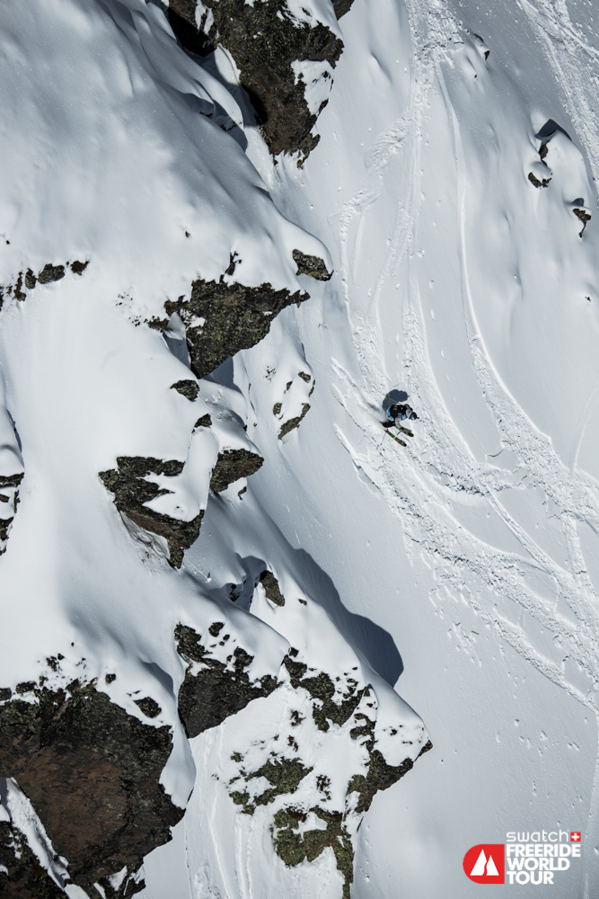 Skidakare traffades av flygplan