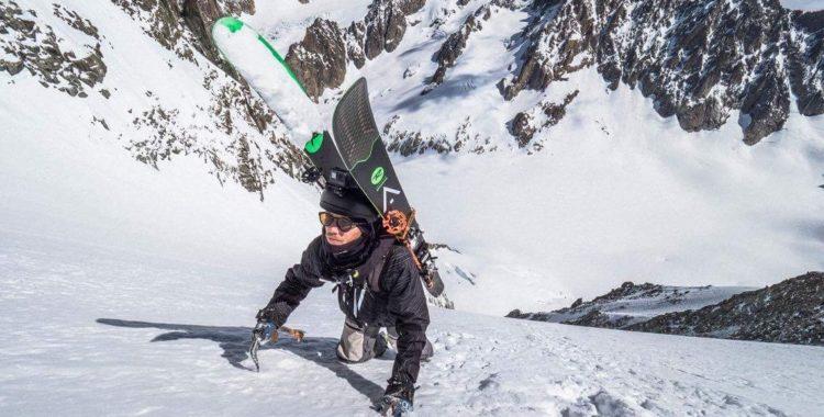 Jacob Wester - den fd världsjibbern som numera syns med dubbla isyxor i bergen ovanför Chamonix gator.