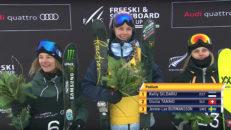 Jennie-Lee Burmansson vann brons i världscupsdebuten