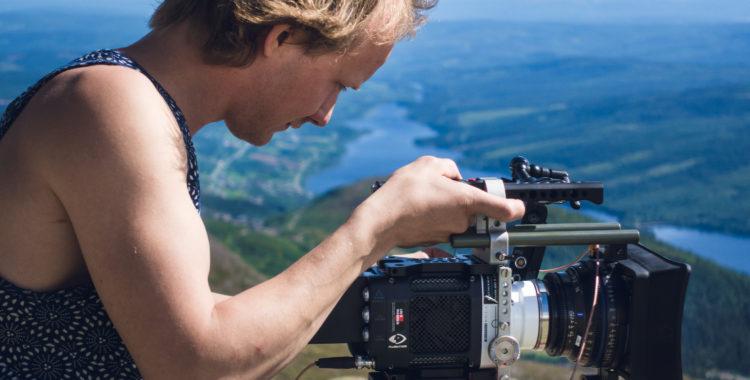 Sommarjobb som filmare hemma på Åreskutan