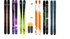 Årets bästa skidor 2018 enligt Freeskier