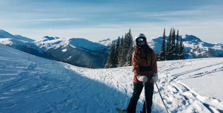 Sofia Lewerin gillar Kanada och älskar Whistler.
