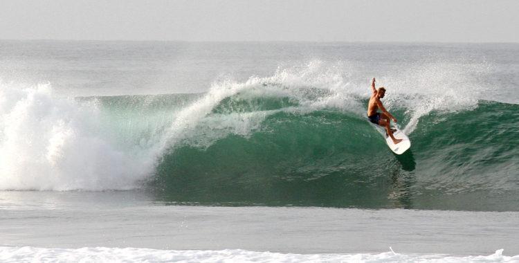 Adam Widén har funnit sitt paradis på södra Sri Lanka.