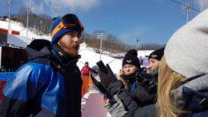 Niklas Mattsson OS-nia i slopestyle bräda