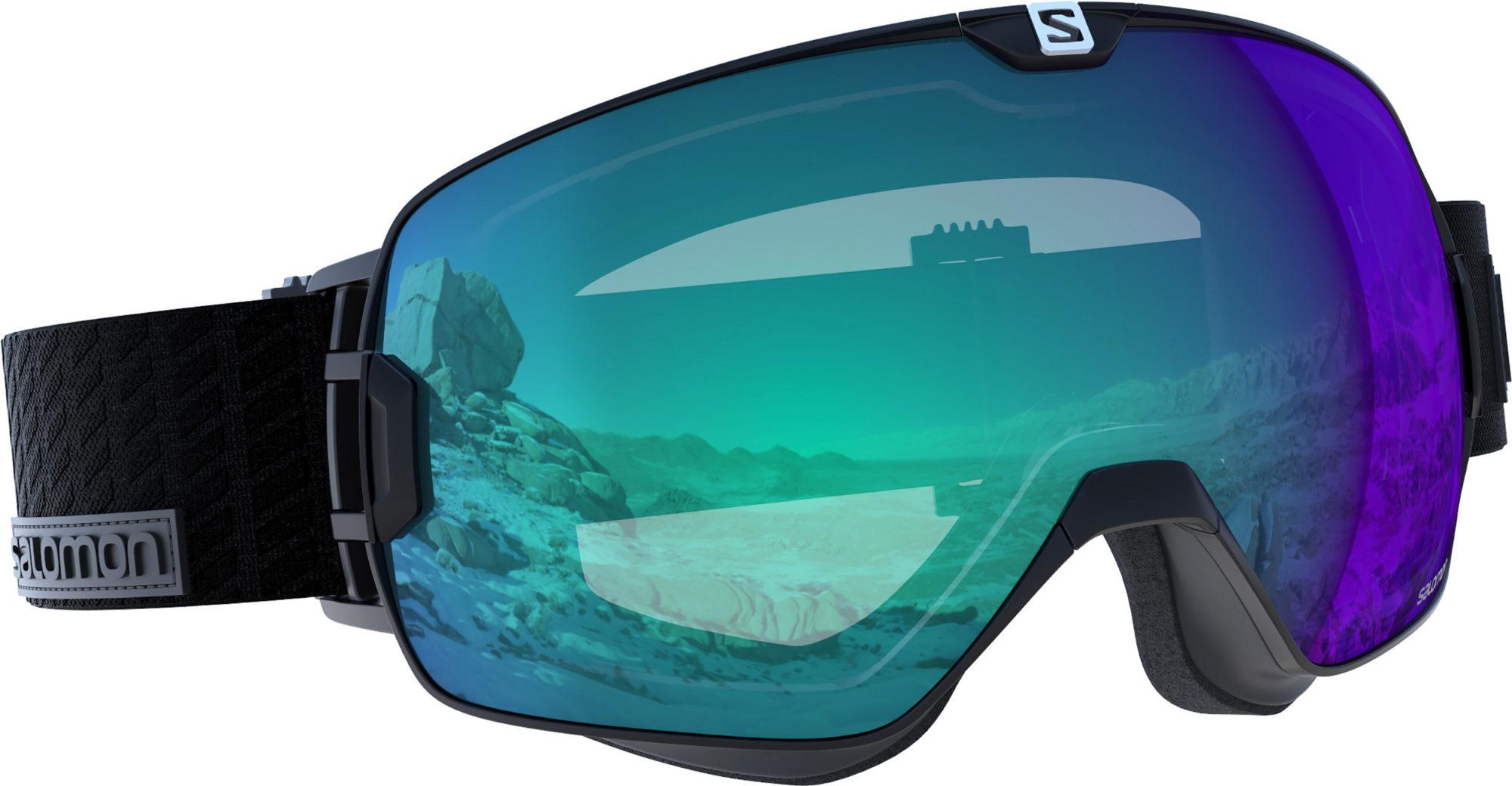 Salomons goggles Xmax Photo Black får dig att se bra ut. Foto  Salomon Xmax  Photo Black d3bc919f3092c