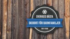 Detta är Sveriges bästa skidort för barnfamiljer