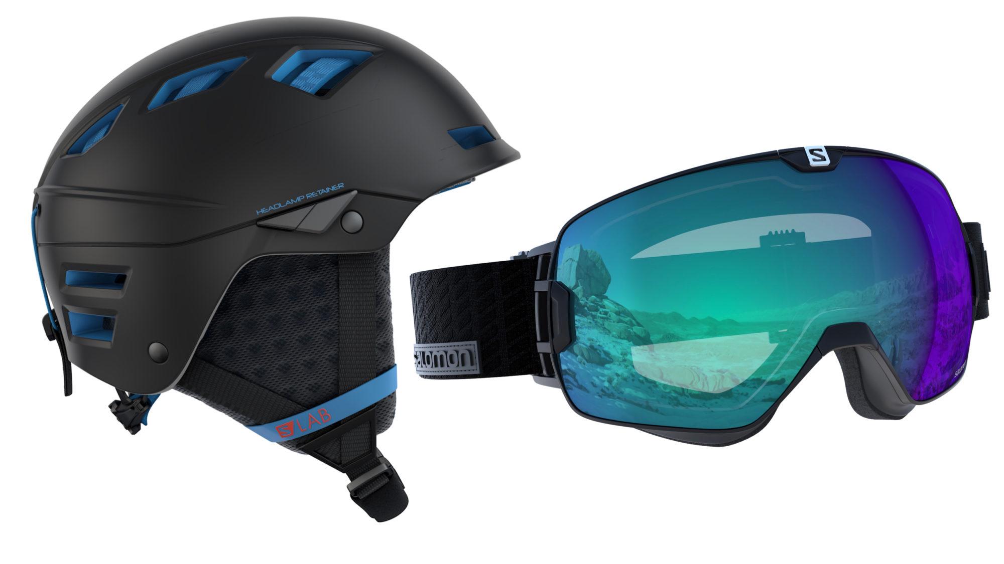 Mtn Lab-hjälm och Xmax-goggles ligger i vinstpotten. Foto  Salomon 4022a99c1d599