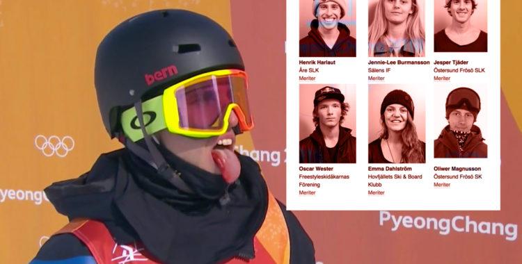 Snacket och efterspelet i OS efter slopestylelandslagets