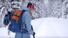 Sjuka skidåkare i Kanada