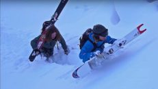 En månad med tokmycket snö i Rauland, Norge