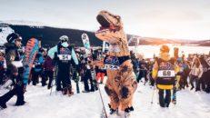 Första april i Åre – Chinese downhill för 500 pers