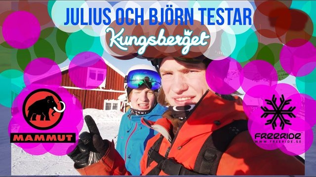 Julius & Björn testar: Kungsberget