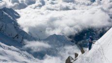 När Oscar Wester mötte Aiguille du Midis branter i Chamonix