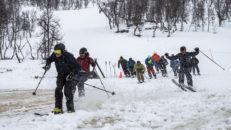 Koridningen blev till ett Chinese Downhill