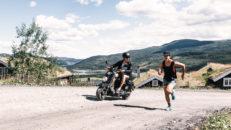 Försäsongsträning med Jackie och Reine – Mopedintervaller