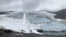 Rekordvärmen tvingar skidcentret på Juvass att stänga