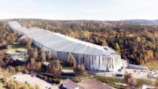 Enorm skidhall står klar i Oslo 2020