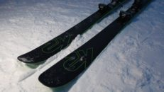 Teståk på K2:s nya skida Pinnacle 95