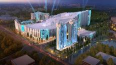 Shanghai bygger världens största inomhusskidanläggning