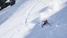 Enbent skidåkare körde FWQ-tävling
