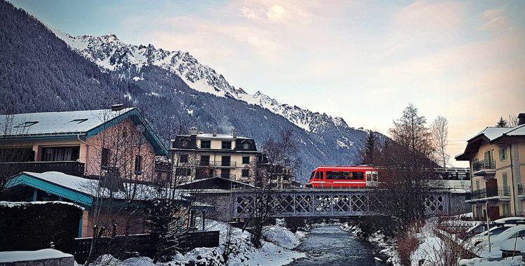 Häng med på tågresa från Göteborg ner till Chamonix.