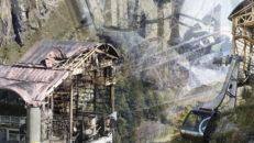 Nya tragiska bilder efter branden i Chamonix