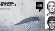 FREERIDE FILM NIGHT med Victor De Le Rue & Evelina Nilsson