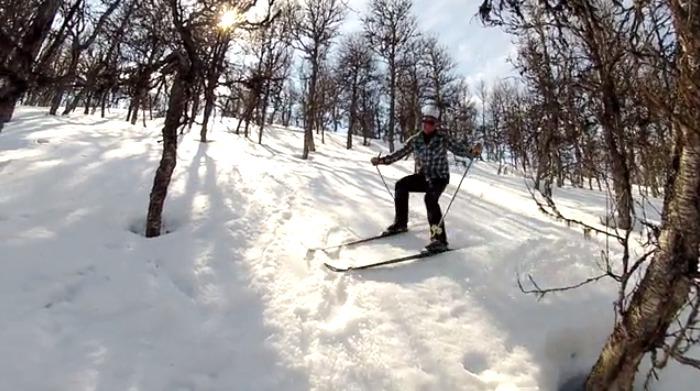 Radical terräng på längdskidor