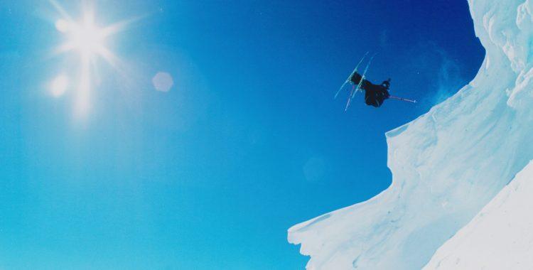 Fabian Omne i Östra Ravin Åre, kom ihåg att landa på fötterna