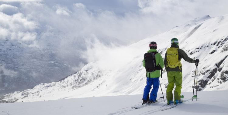 11 meter snö per år faller det i norska Røldal, oh boy!