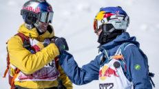 Storslalomtävling på 4000 meters höjd