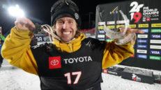 Henrik Harlaut tog Sveriges första VM-silver