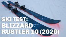 """""""– Ett djur i pisten!"""" Skidtest: Blizzard Rustler 10 (2020)"""