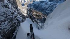 När Kilian Jornet åkte skidor vid Trollväggen