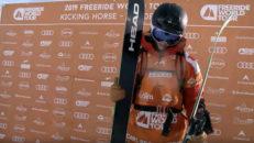 After-ski kungen ställde ut en redig raggare i Kicking Horse