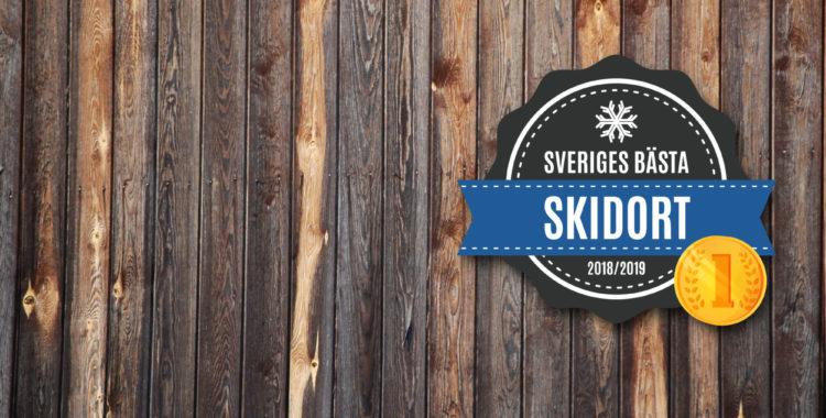 Detta är Sveriges bästa skidort 2019