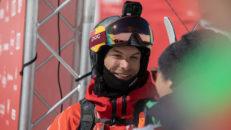 Kristofer Turdell vann silver i Verbier