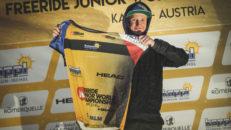 Max Palm tog brons på junior-VM i Kappl
