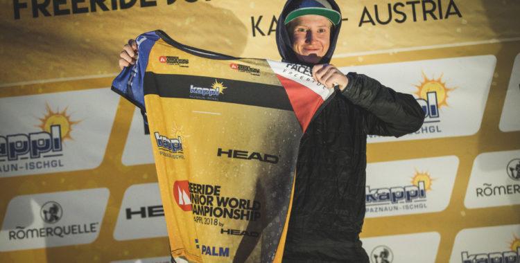 Max Palm tog tredjeplatsen på junior-VM i Kappl idag.