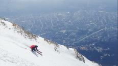 City-skidåkning i Innsbruck