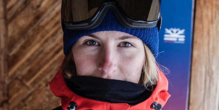 Sanne Mona var med i en lavin och det har förändrat hennes beteende på berget.