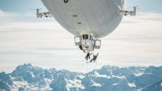 Zeppelinskidåkning, PR-trick eller bra idé?