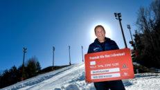 En halv miljon kronor ska få fler barn att åka skidor