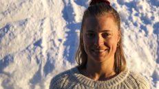 Irma Krantz Golinski: Om skidåkning, studier och NM i Riksgränsen
